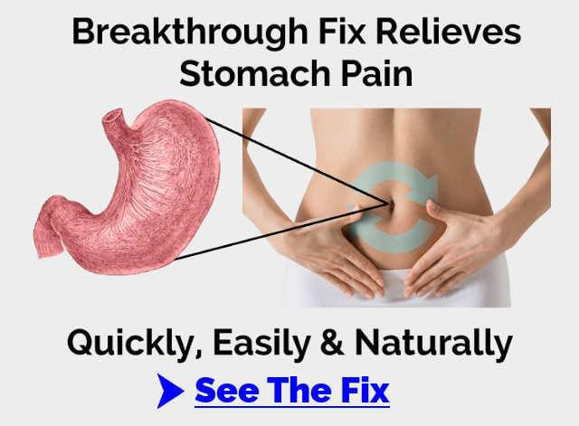 stomach pain fix